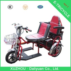 500W three-wheeler collapsible foldable electric tricycle for adults passengers