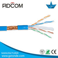 High quality best price 305m sftp cat6 copper cable price per meter