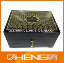 Guangzhou Factory Customized Made Wood Pack Box