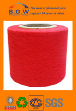 colorful recycle cotton yarn for socks knitting/cheap goods from china/yarn knitting/polyester cotton best selling/louis vuitton