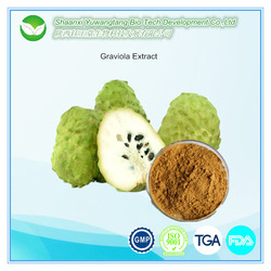 Anti cancer Ingredient Soursop Fruit Extract / Graviola Extract