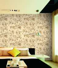 Top quality PVC vinyl embossed wallpaper for home decoration