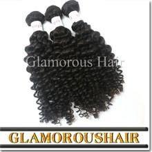 Cheap Natural Brown Curly Hair Weaving Virgin Indian Deep Curly Hair