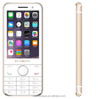 New 3.5inch very slim small size mobile phone feature phone with whatsapp
