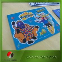 rubber 3d pvc fridge magnet