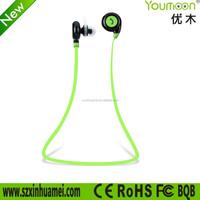 sport wireless bluetooth 4.1 stereo earbuds/headphones/earphones/headset with in-line microphone