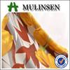 Mulinsen 2015 hotsale tulip pattern OE printed spun poly spandex fabric