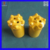 34mm 11 degree tungsten carbide taper shank drill bit