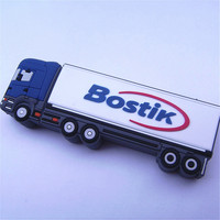 rubber car shape usb drive /Freight car usb flash drive with really capacity