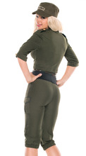 YIWU Caddy SDFS-205 2015 New Arrival sexy soldier costumes,army officer uniform,halloween costume for women