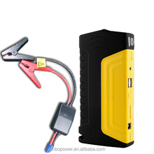 ONBO 12v car battery power bank 16000mAh mini booster high power with intelligent booster cable for car and motorcycle