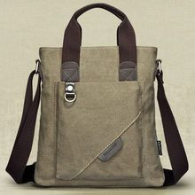 oxford canvas custom leather briefcase beauty and briefcase for man