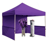 600D Oxford and Iron rack Pole Material printed advertising tent