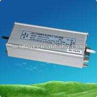 80W IP67 constant voltage led driver 12V
