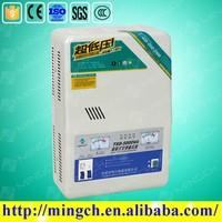 CE ROHS single phase 8000VA automatic 220VAC wall type lucas voltage regulator