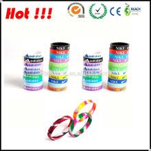 vendita diretta in fabbrica carino silicone braccialetto rosario