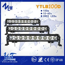 More brighter!car wash led light Flood Light Bar Work Offroad 4x4 Atv Ute single row Light 24v mining utv offroad off road heavy