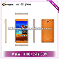 6.0 inch Capacitive Touch Panel,MTK6577,Android 4.1,3G phone,GPS,Bluetooth,dual sim 3g smartphone