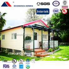 Australian Standard prefabricated house light steel structure villa with solar system