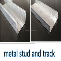 Hot sale galvanized metal stud and track for ceilings grid components
