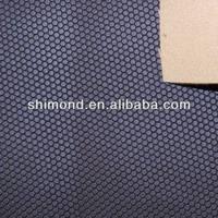 Football embossed pattern new PU fabric 2015