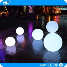 LED mood light magic ball / make outdoor Christmas LED light balls / rechargeable clear ball light