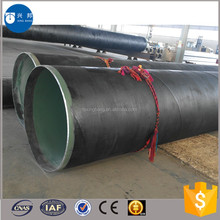 New design anti-corrosive pipe with epoxy coal pitch and fiber cloth for water recycling system