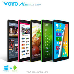 8inch VOYO A1 mini Quad-core original Windows8.1 2GB+32GB with Android O.S. tablet pc