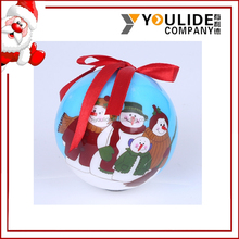 Hand Painted Giant Christmas Ball With Custom Logo For Christmas Decorations