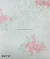 New beautiful leaf and flower design wallpaper for bedroom