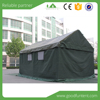 Factory supply high quality cotton canvas military tent greenhouse tent