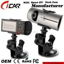 "Classical Model 2.7"" 140 Dual Lens Car Dvr Black Box +GPS Logger"