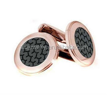 Low price useful plain metal cufflink wholesale