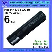 generic laptop battery for HP DV4 DV5 DV6 batery