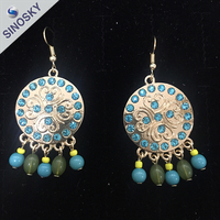 2015 Fashion costume jewelry natural Ladies Earrings Designs Pictures