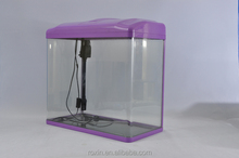 glass aquarium vertical fish tank for jellyfish coral reef supplies from china