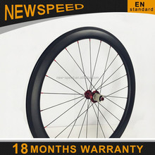 Chinese new product 50mm tubuless 700c off road carbon wheels clincher