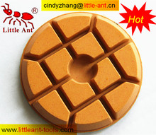 Resin bond disc for marble floor polishing machine , marble cleaner tools , pad for floor wax remover
