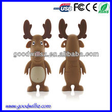 Hot-selling Christmas gift USB flash drive for promotion