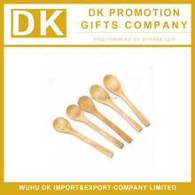 2015 high quality wooden spoon for baby , hot sale tea spoon with custom logo