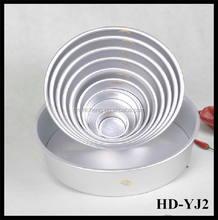 2' 0.8mmThickness High strength aluminum alloy plate live bottom cake mould