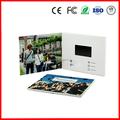 "Tarjeta De Video LCD Personalizada Con Memoria Interna 2.8"" 4.3"" 5"" 7"" 10"" Muy Vendida"