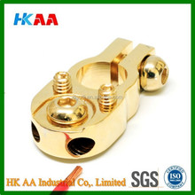 Gold Plated Solid Brass Battery Terminal
