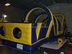Hot sale giant inflatable water obstacle for sale