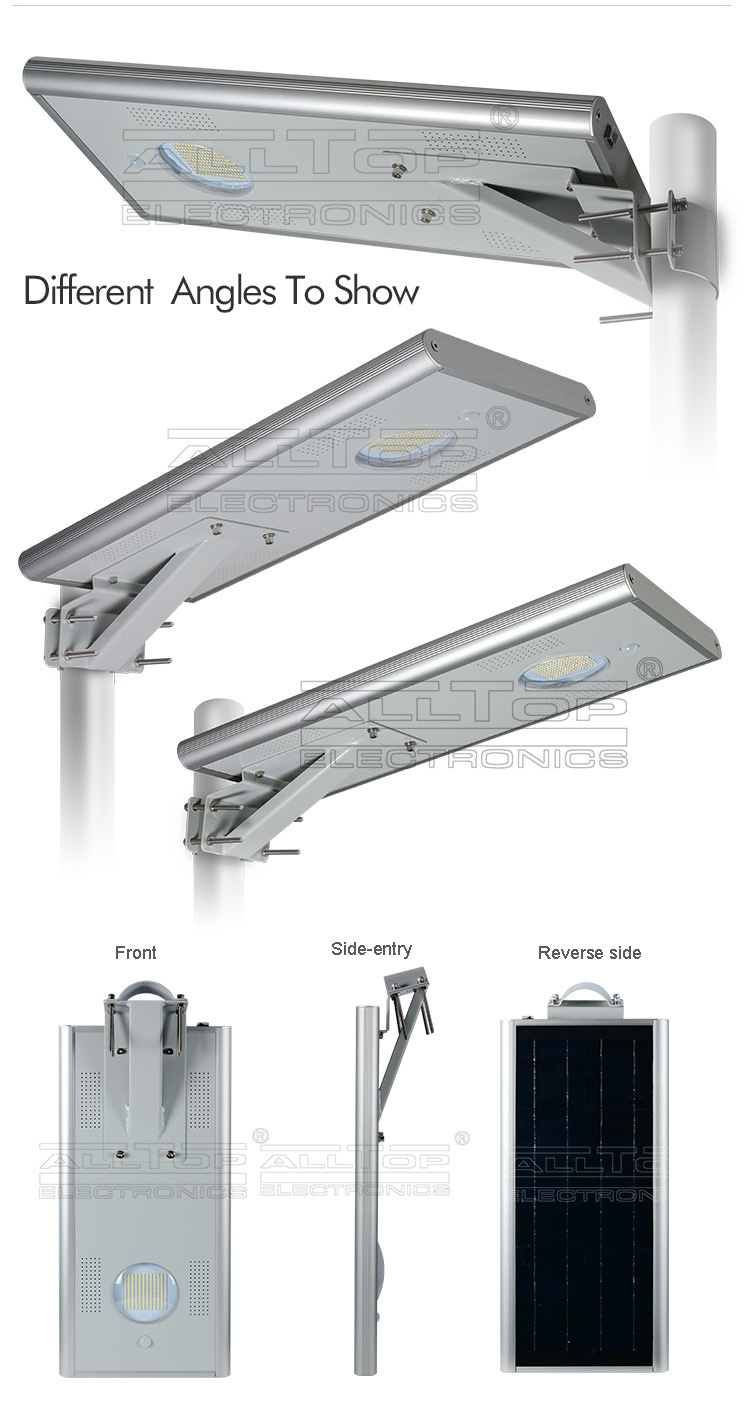 12v 15w outdoor ip65 integrated all in one solar led street light