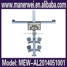 Original launch support window 8 system 3D car weel repair shaft tools laser alignment