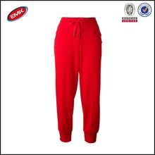 la mujer pantalones de vestir casual de ocio rojo harén de baile hip hop del deporte de largo el sudor pantalones