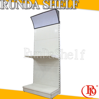 parts of sports equipment display round cube wall shelf