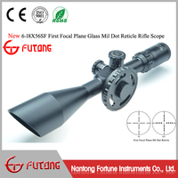 Riflescopes SF6-18x56 SF First Focal Plane Angled Objective Big Wheel Side Focus Rifle Scope Glass Mil Dot Scopes