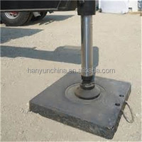 crane mat with rope/plastic leg frame/uhmw outrigger